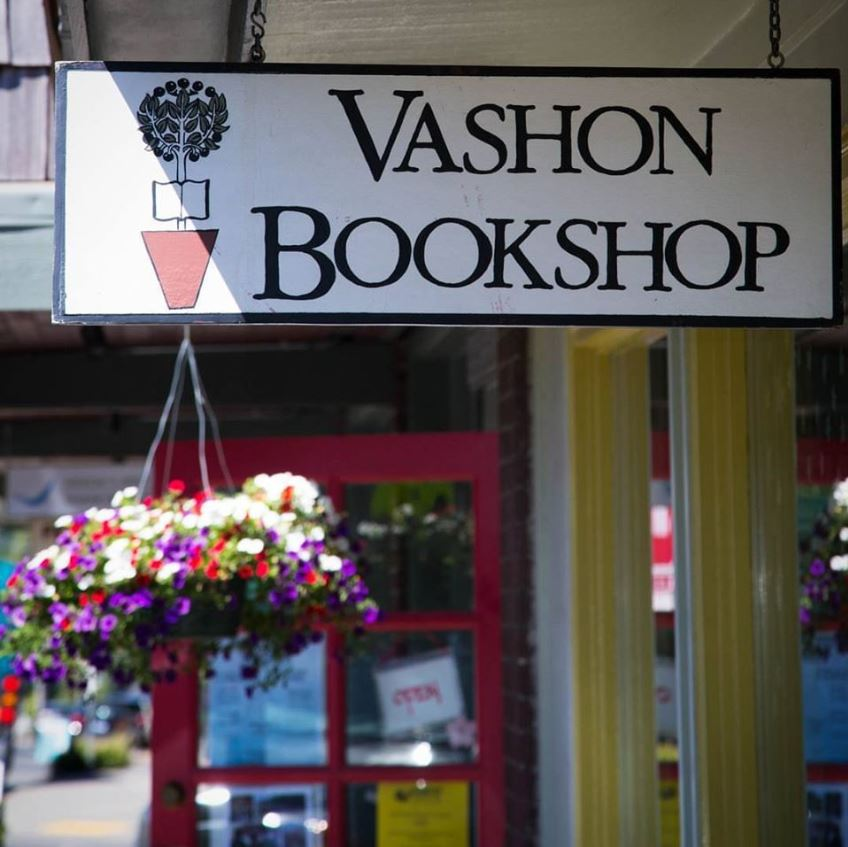 Vashon Island Bookshop great place to get a gift.