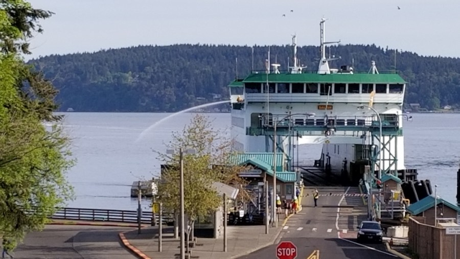 Point Defiance Ferry to Vashon Island