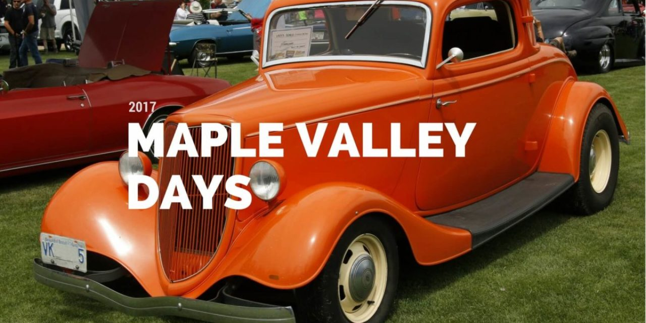 Maple Valley Days 2017