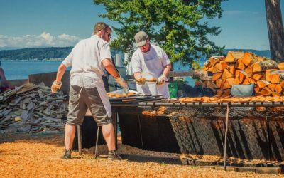 Fishy Fun at the 2018 Browns Point Salmon Bake