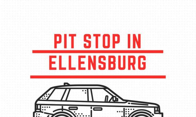 Pit Stop in Ellensburg