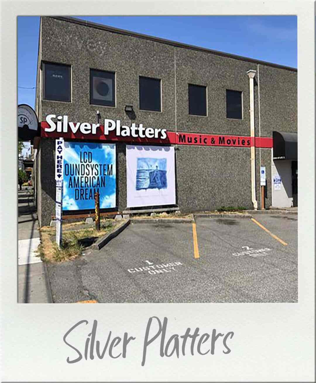 Silver Platters CD Store in SODO