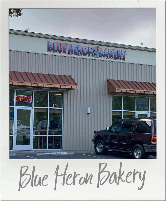 Blue Heron Bakery Olympia Storefront