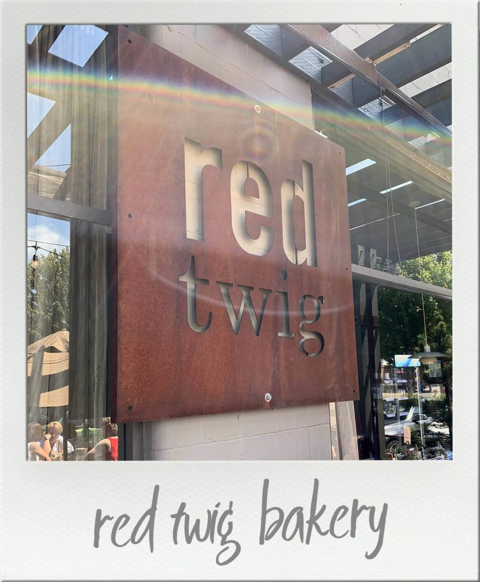red twig bakery cafe and coffee roaster Edmonds Washington