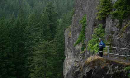 Hiking Beacon Rock in the Gorge