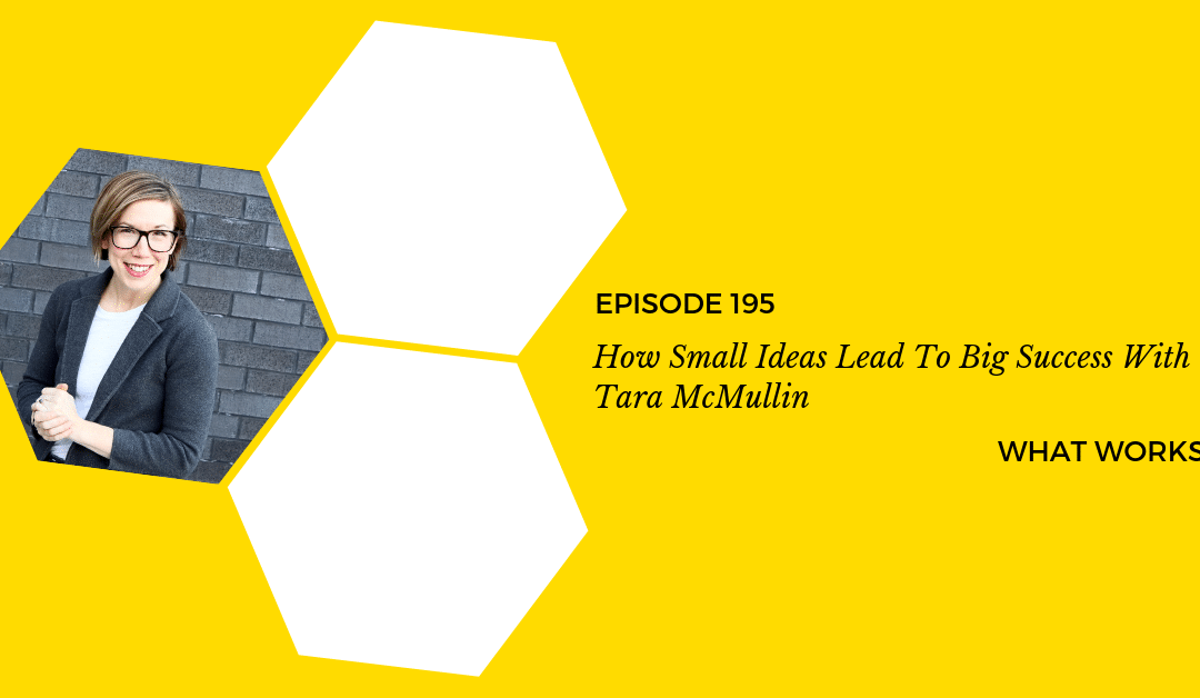 EP 195: How Small Ideas Lead To Big Success With Tara McMullin