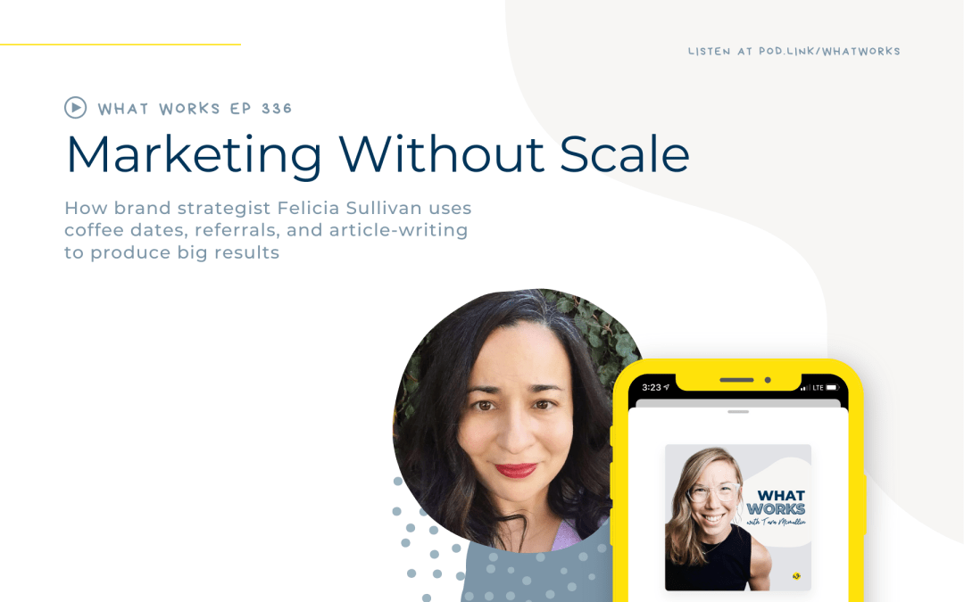 EP 336: Marketing Without Scale With Brand Strategist Felicia Sullivan