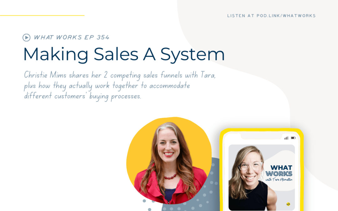 EP 354: Making Sales A System With Coach Pony Founder Christie Mims