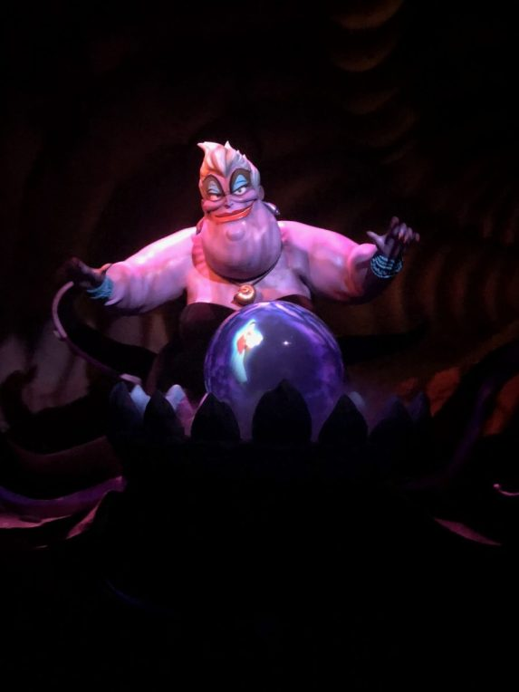 Ursula on Under the Sea - Journey of the Little Mermaid