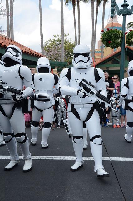 Storm Troopers in Disney's Hollywood Studios