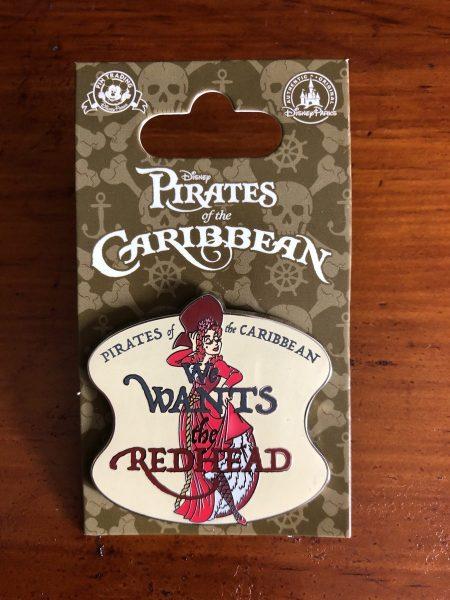 """We wants the Readhead"" Pirates of the Caribbean Pin"