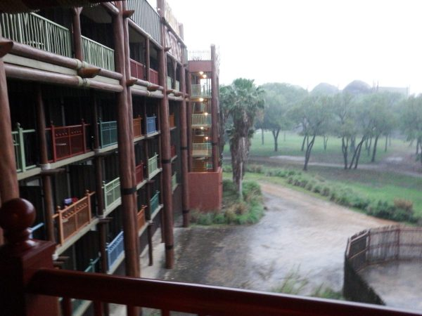 Animal Kingdom Lodge - overlooking the Savannah