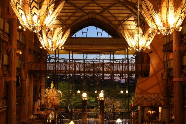 Lobby at Animal Kingdom Lodge