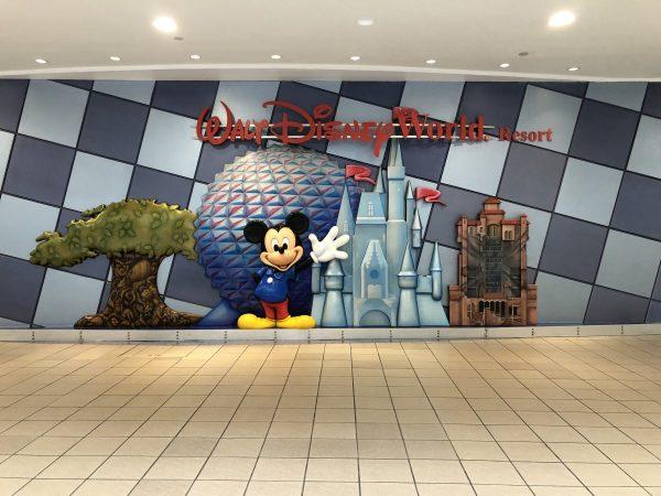 Walt Disney World Mural at MCO