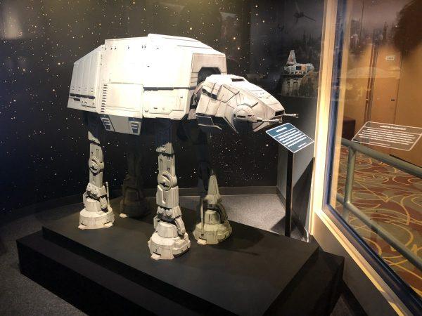 AT-AT display in Disney's Hollywood Studios