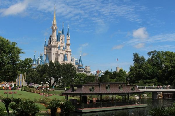 Castle View at Walt Disney World in Florida