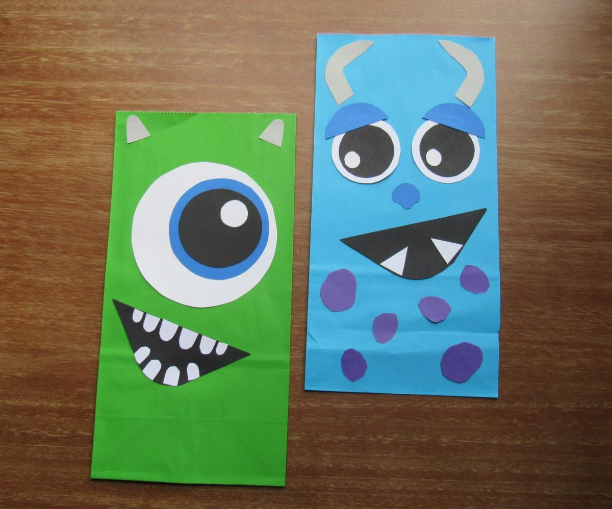 Mike and Sully Party Bags