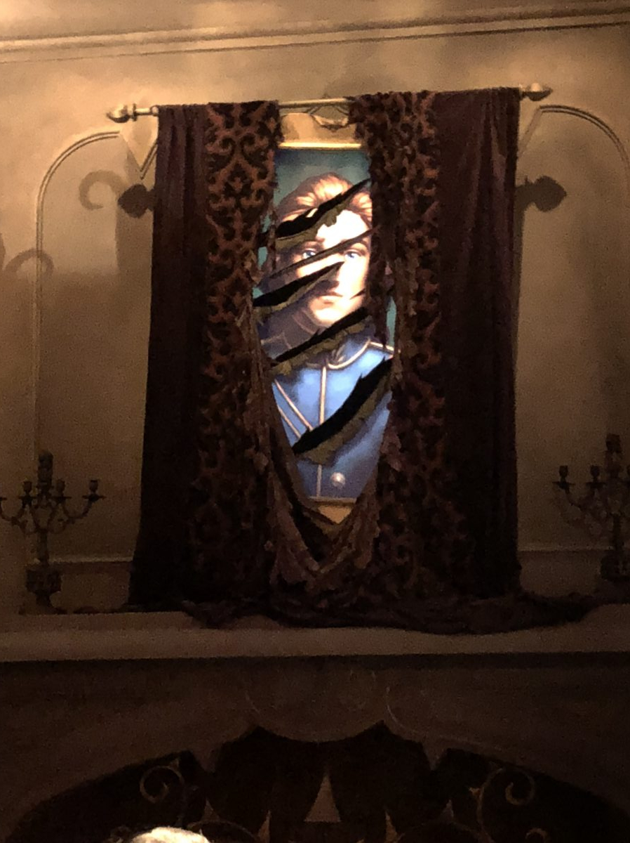 Photo of Prince Adam, hanging in the Beast's Room, in Be Our Guest