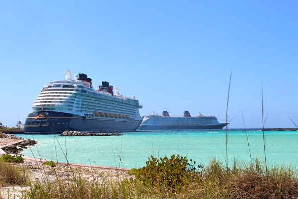 Cruise Ships Docked