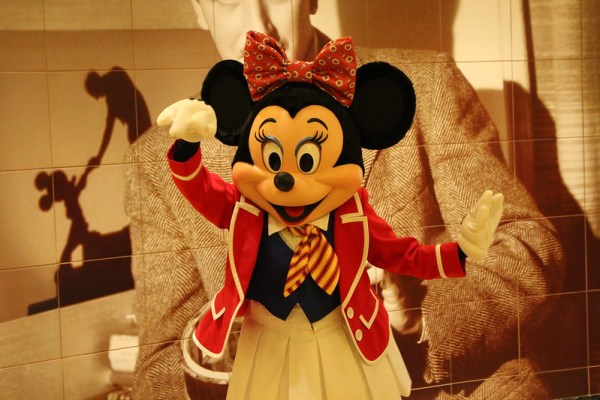 Minnie Mouse on a Disney Cruise
