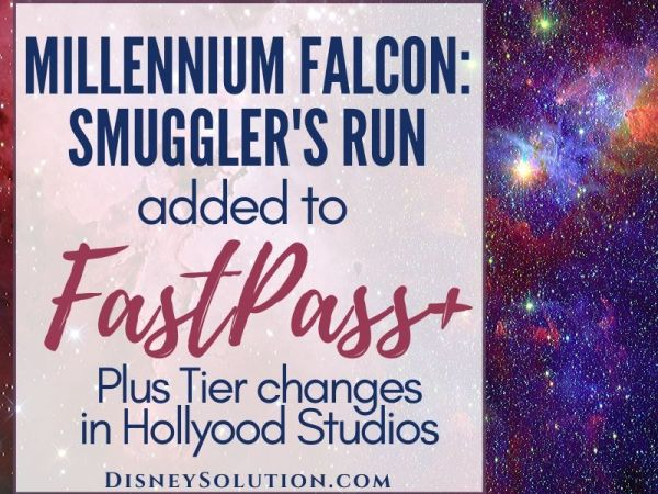 Millenium Falcon: Smuggler's Run Added To FastPass+