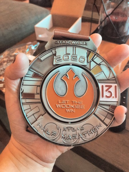 2020 Star Wars Virtual Half Marathon