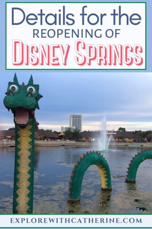 Details For Phased Reopening of Disney Springs