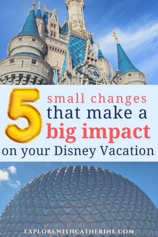 5 Small Changes That Have A Big Impact On Your Vacation