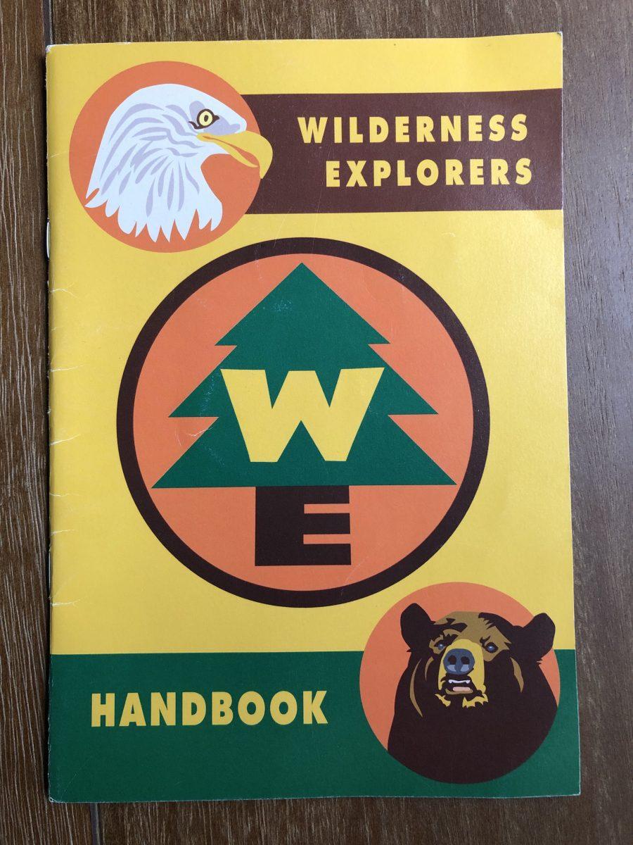 A children's Wilderness Explorers Handbook