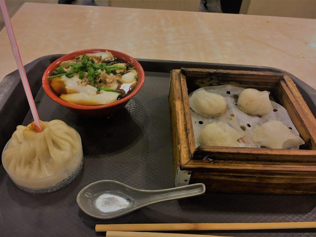 Dumplings in Shanghai