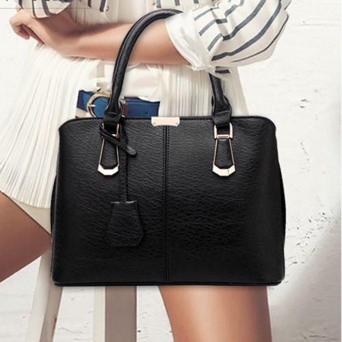 black tote purse