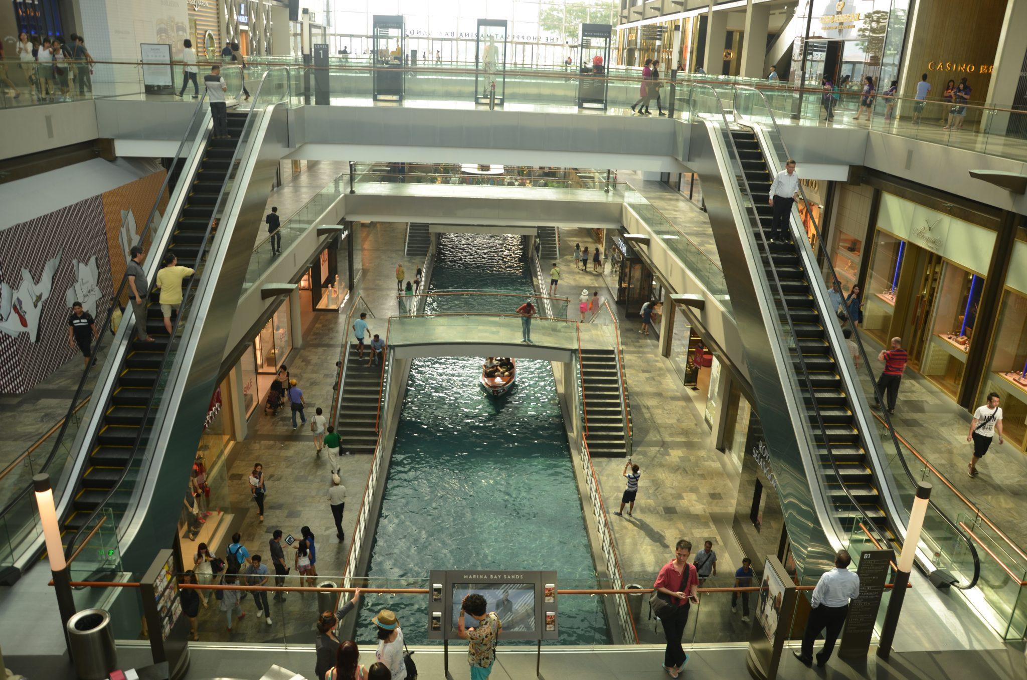 Marina Bay shopping centre