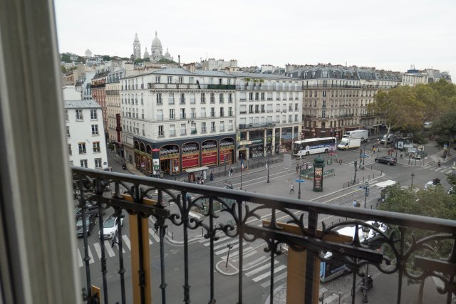 view from hotel Villa Royale