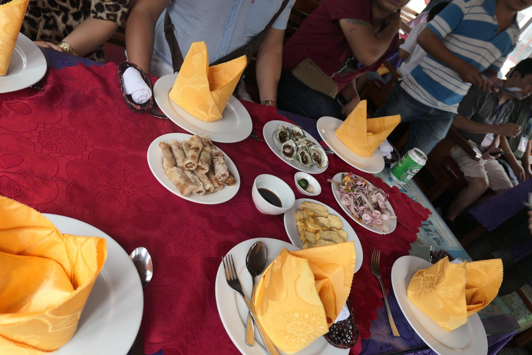 Halong bay seafood