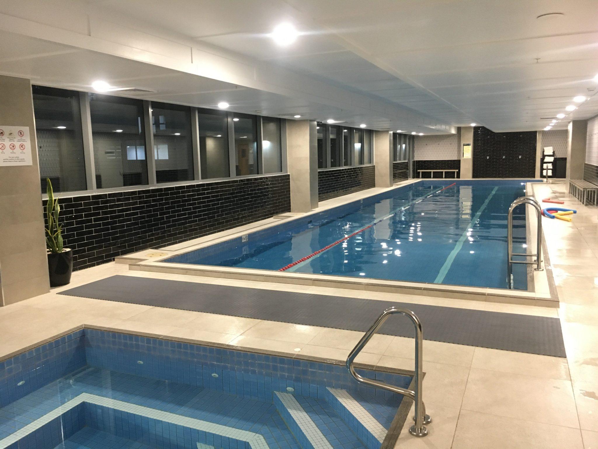 swimming pool at Meriton