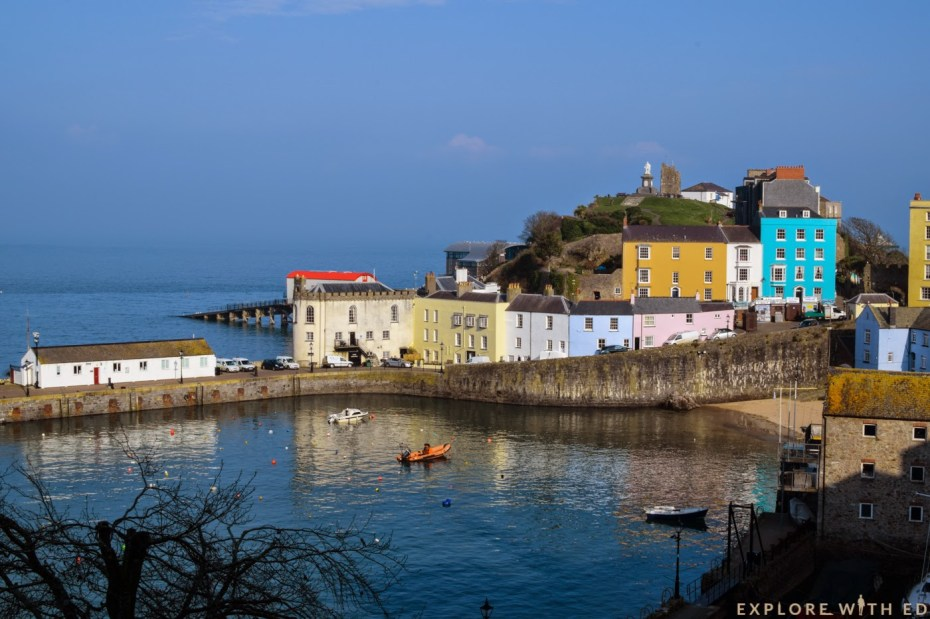 Tenby Harbour, Pretty Houses
