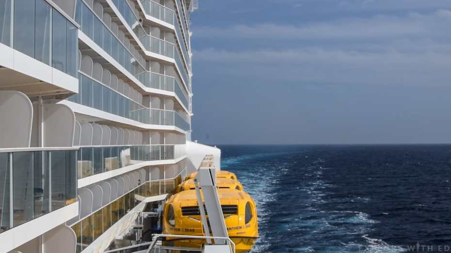 Anthem of the Seas Balcony cabins