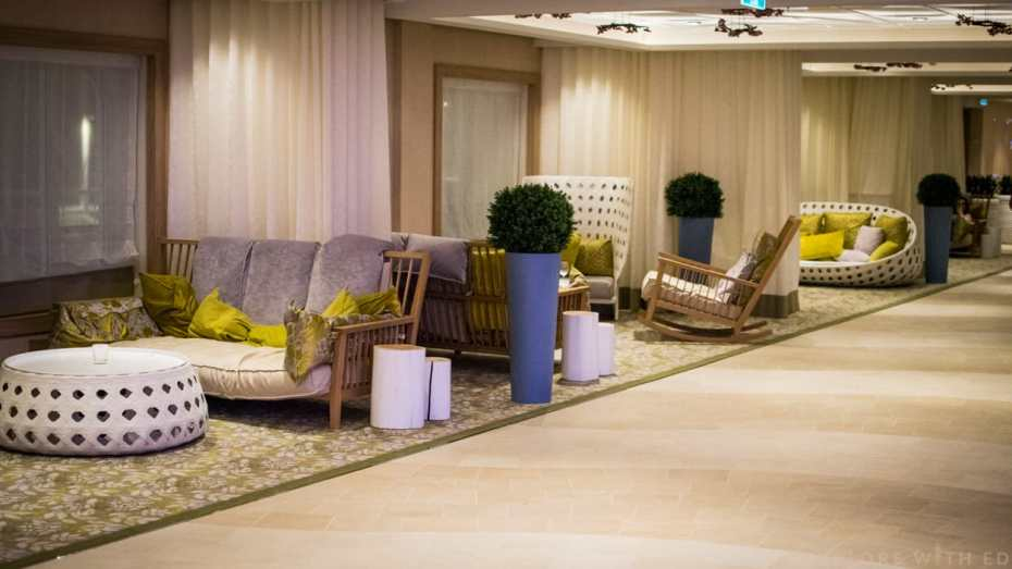 Anthem of the Seas sofa chairs, The Via