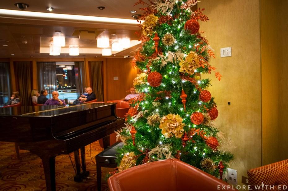 The Red Bar, P&O Ventura, Christmas
