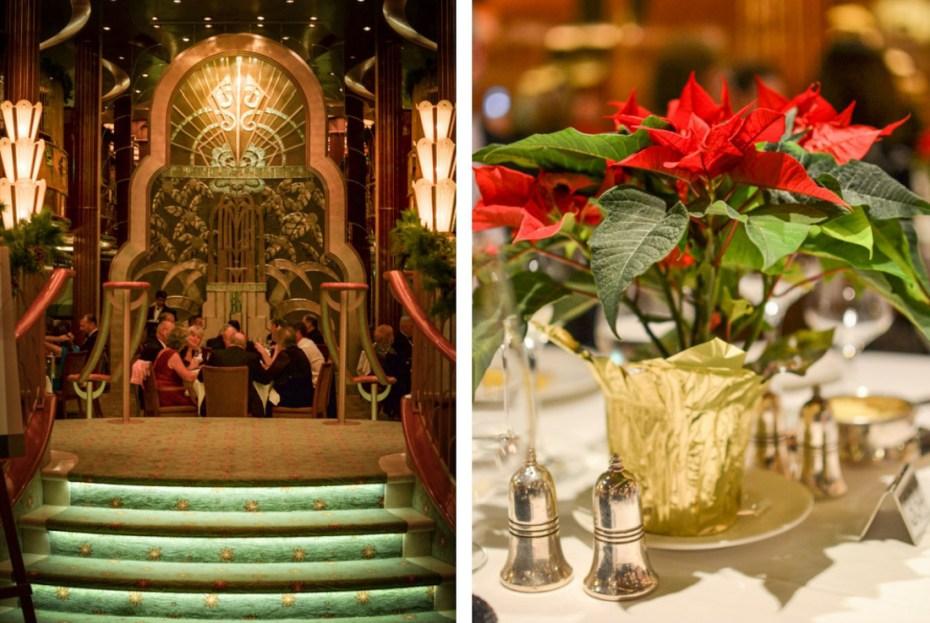 Art Deco, Cunard Queen Elizabeth, Britannia Restaurant