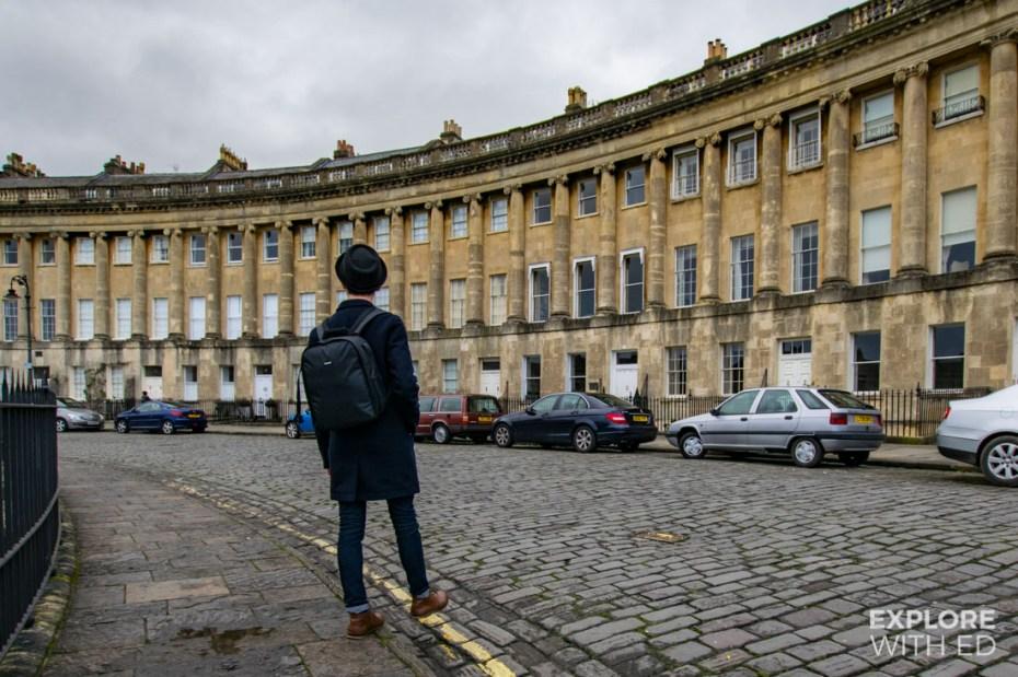 Neewer Camera Bag, Royal Crescent in Bath