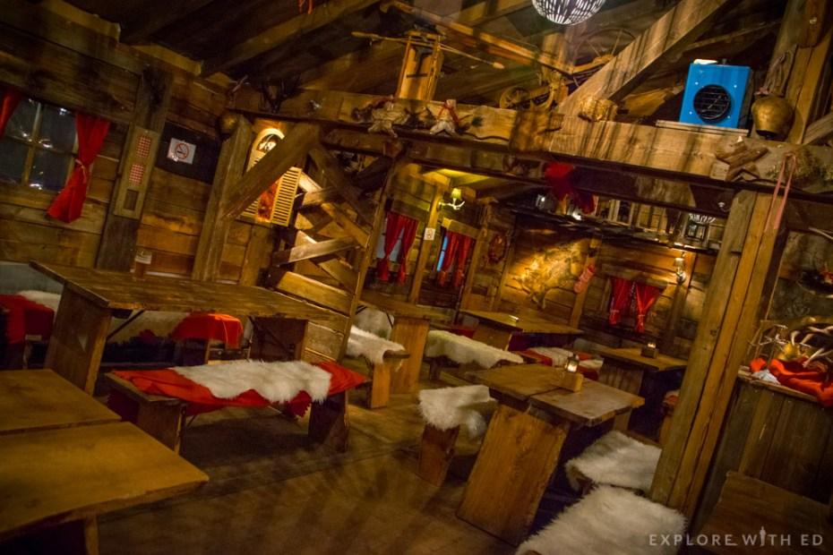 Alpine Cabin interior