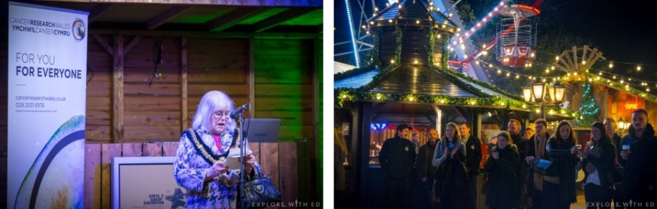 Cancer Research Wales, Charity of the Year at Cardiff's Winter Wonderland