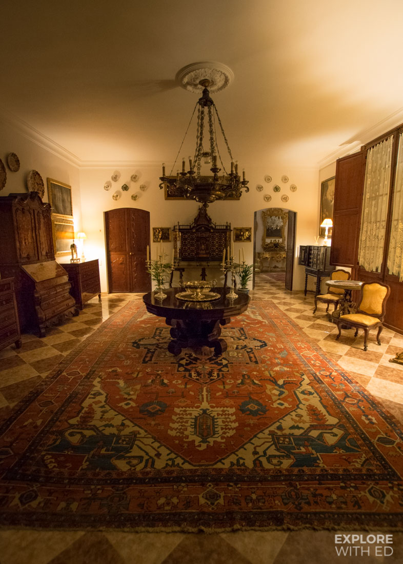 Interior of Casa Delmonte in Palma