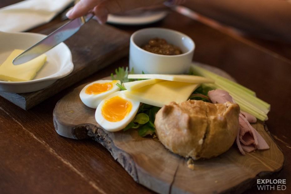 Sharing platter from The Castle Inn Castle Combe