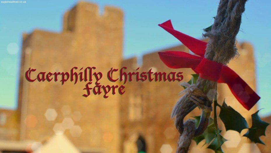 Caerphilly Christmas Fayre Title Image