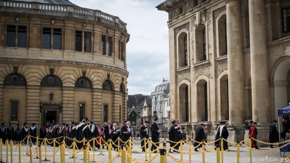 Oxford University Graduation