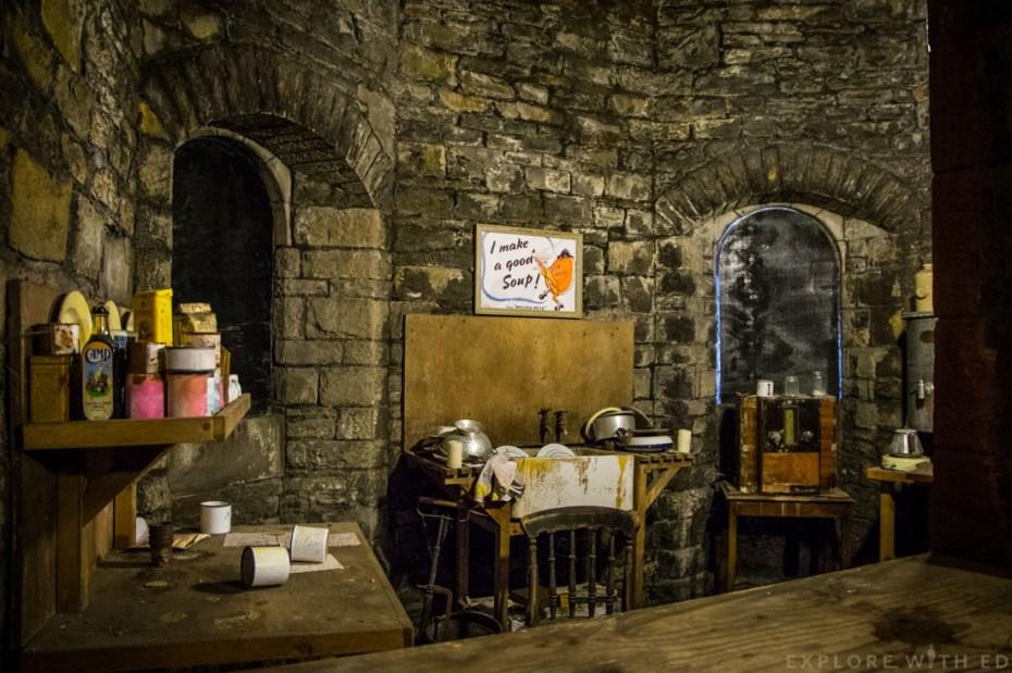 Cardiff Castle World War Shelter