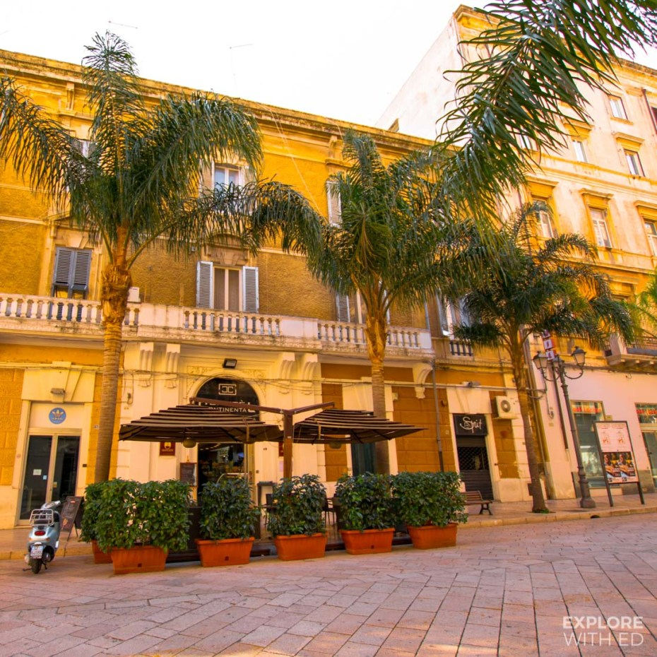 Shops and Cafes in Brindisi
