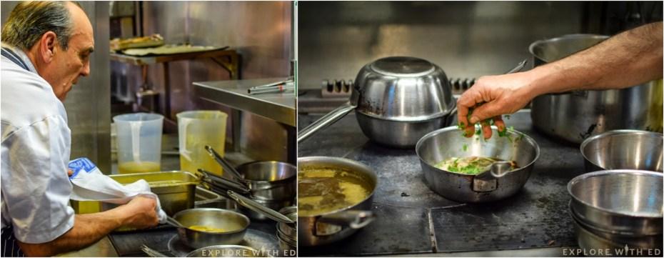 Gennaro cooking demonstration